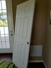 white wooden 6-panel door Woodbridge, 22193