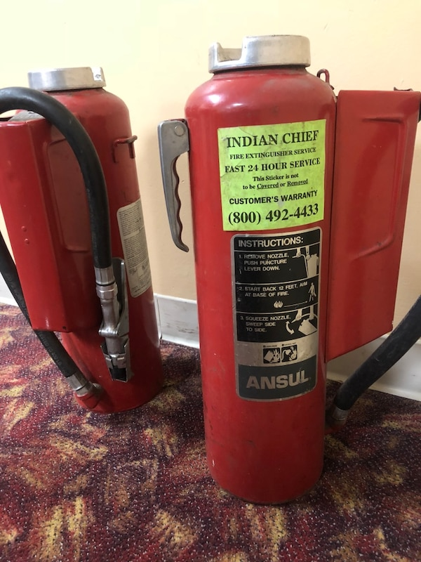 Ansul Fire Extinguisher 20LB
