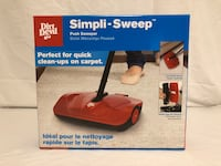 Dirt Devil Simpli-Sweep Push Sweeper For Carpets (New)  Minneapolis, 55436