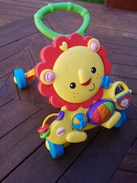 Fisher-Price Lion learning walker