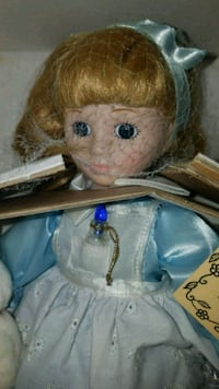 Alice in wonderland porcelain doll 41 km