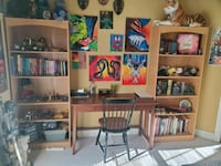 2 shelves and table/desk with chair Fredericksburg, 22407