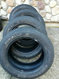 4 Used Pirelli Scorpion M+S tires