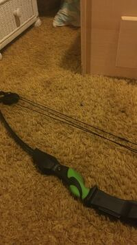 black and green compound bow Virginia Beach, 23462
