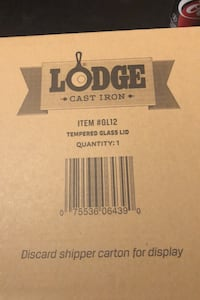 "Lodge brand 12"" cast iron skillet LID.  Vaughan, L6A 0W7"