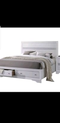 Acme Naima Queen headboard only White Detroit, 48209
