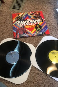 Guardians of the galaxy deluxe vinyl edition marvel record