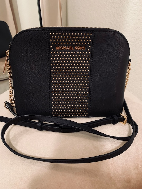 a51151a8cf59 Used MK Black and Gold Purse for sale in Mesquite - letgo