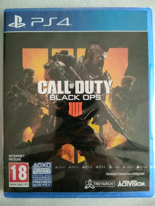 CALL OF DUTY BLACK OPS 4 PS4 Neuf prix négociable