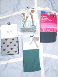 New! Various styles & sizes of nylons/tights!