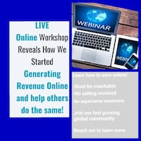 Learn to Earn Online- From Home or on the Go