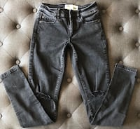 Size 00 / GIRLS black jeans from GARAGE Mont-Royal, H3P