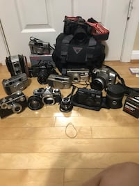Vintage film cameras in working condition (unless stated otherwise