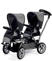 baby's black and gray tandem stroller Annandale, 22003