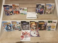 Big Nintendo Wii Bundle 13 Games Controller Nunchuk all Cables! Whitby