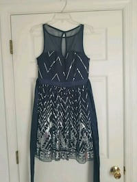 Blue & silver dress Baltimore, 21227