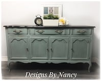 Stunning Solid Wood French Provincial Sideboard/Buffet!  Whitby, L1P 1L9