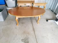 oval brown wooden coffee table Wilberforce, 45384