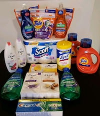 Tide Laundry Detergent Personal Care Lot