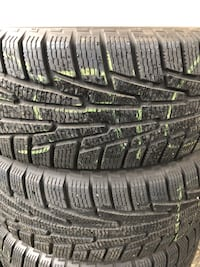 Set of 4 winter tires 225/60R17 Nokian Hakkapelita. new. $500 OBO. Surrey, V3W 3A9