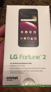 LG Fortune 2. New in box never use High Point, 27265