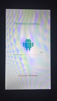 Factory unlocked just reset whole phone