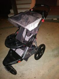 black and gray jogging stroller Alhambra, 91803