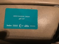 Neiman Marcus Gift Card for $1471.50 Arcade, 95864