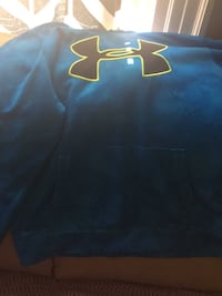 blue and red Under Armour pullover hoodie Niagara Falls, L2E 2H2