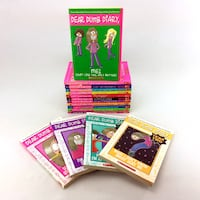 Lot 16 Dear Dumb Diary Books Complete Series 1-12 + Year Two 1-4 For Girls 8-13 Port Colborne