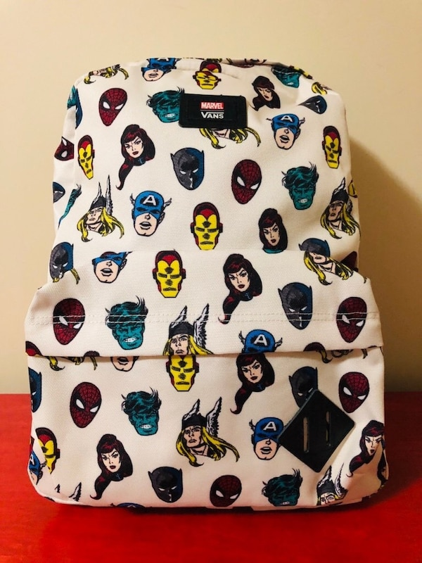 2972d4f6138 Used Vans Marvel Old Skool II Backpack Brand New With Tags for sale in  Toronto - letgo