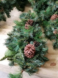 Christmas artificial greens decorations