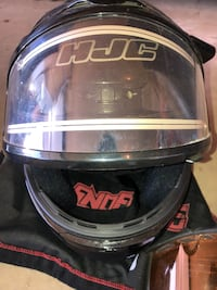 Snow mobile helmet and goggles