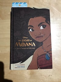 Moana book and bookmark  Mississauga, L5M 1C8