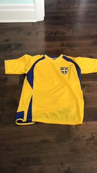 Sweden Soccer Jersey London, N5X 4M7