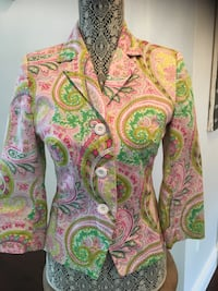 Beautiful Floral Blazer Size Small Mississauga, L4Z 4A1