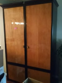 brown and black wooden wardrobe Centreville, 20120