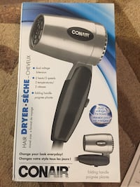 Conair travel size folding hair dryer brand new  Hamilton, L8M 2B5