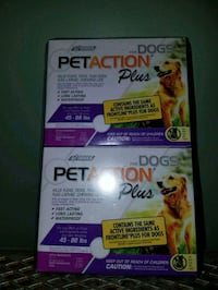 Petaction Plus for Dogs 45-88 lbs (6 month supply) Clinton, 01510