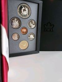 1988 Royal Canada Mint Proof Coin Set - w/ 50% $1  Calgary, T2R 0S8