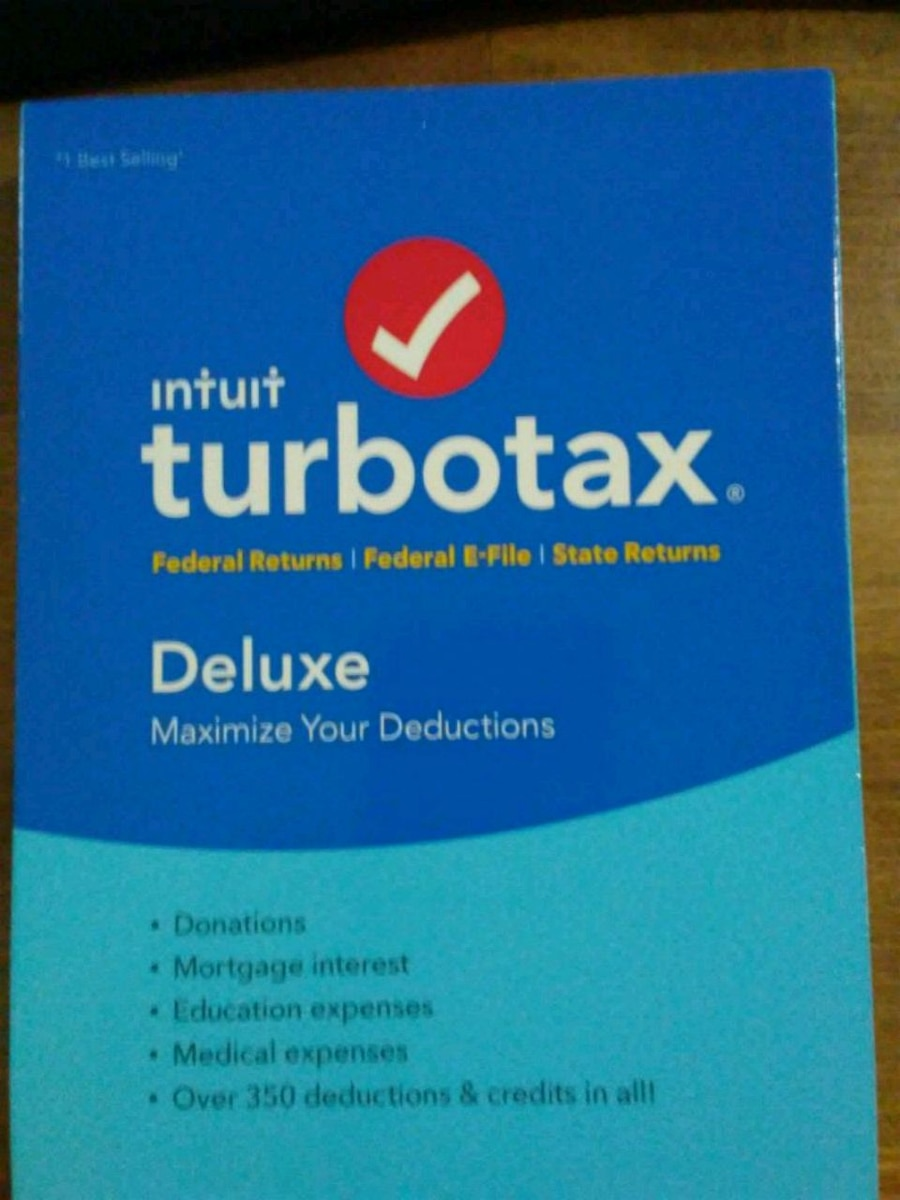 LOOK  *New Sealed*  2016 TURBOTAX DELUXE Plus STATE CD TURBO TAX