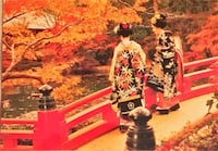 Maiko girls postcards