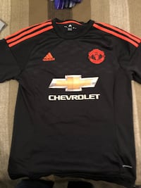 Adidas Manchester United FC jersey sz L