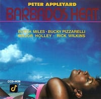 LIKE NEW ** Peter Appleyard - Barbados Heat CD Hamilton