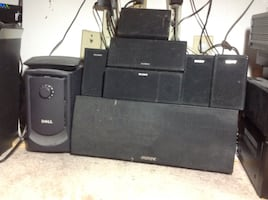 Set Of small speakers