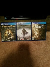 Ps4 games  Radcliff