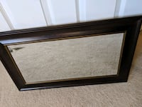 Brown Frame Mirror with Gold Edging  Alexandria, 22304