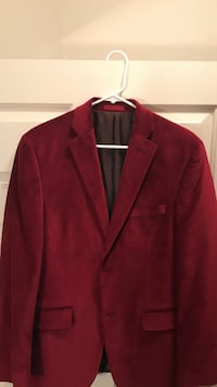 Mens alfani velvet slim fit blazer