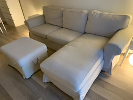 IKEA Couch Ektorp including foot rest