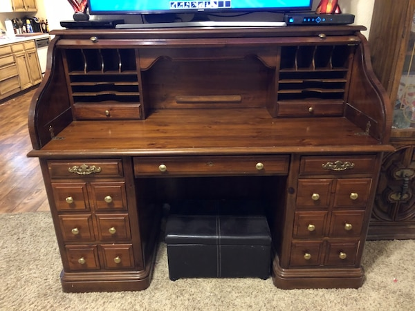 Used Roll Top Desk For Sale In Euless Letgo